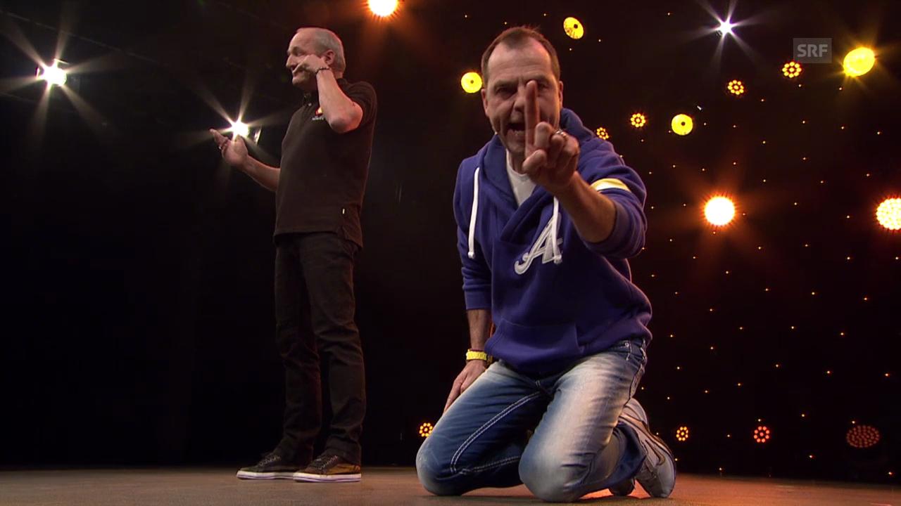 Arosa Humor-Festival 2014: Sutter&Pfändler