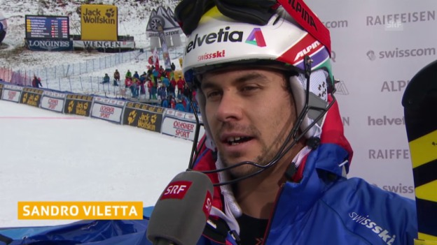 Video «Ski Alpin: Sandro Viletta im Interview» abspielen