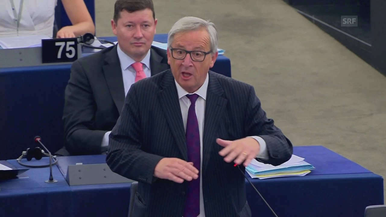 Juncker redet sich in Rage