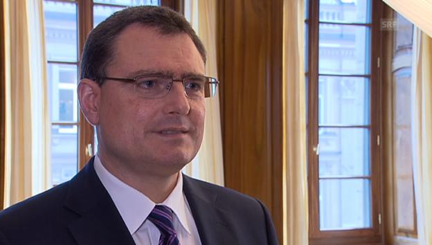Video «SNB-Präsident Thomas Jordan zur Geldpolitik» abspielen