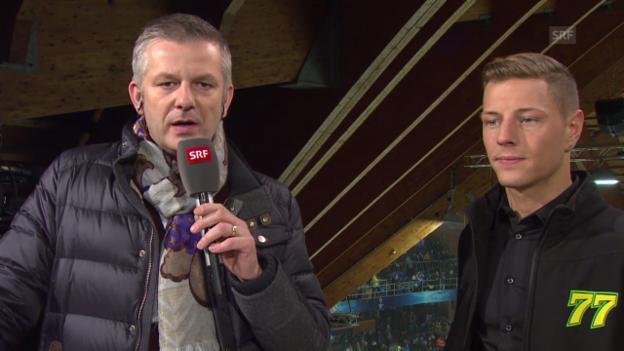 Video «VIP-Gespräch mit Dominique Aegerter» abspielen