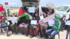 Video «Zusammenstösse im Gazastreifen» abspielen