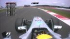 Video «Die Schlussphase des Qualifyings («sportlive»)» abspielen