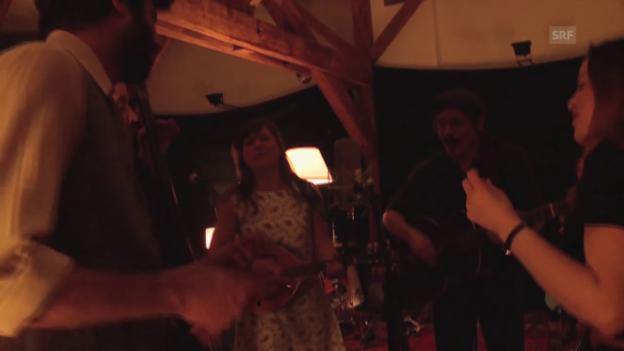 Video «Les Chercheurs d'or live im «SongSalon»» abspielen