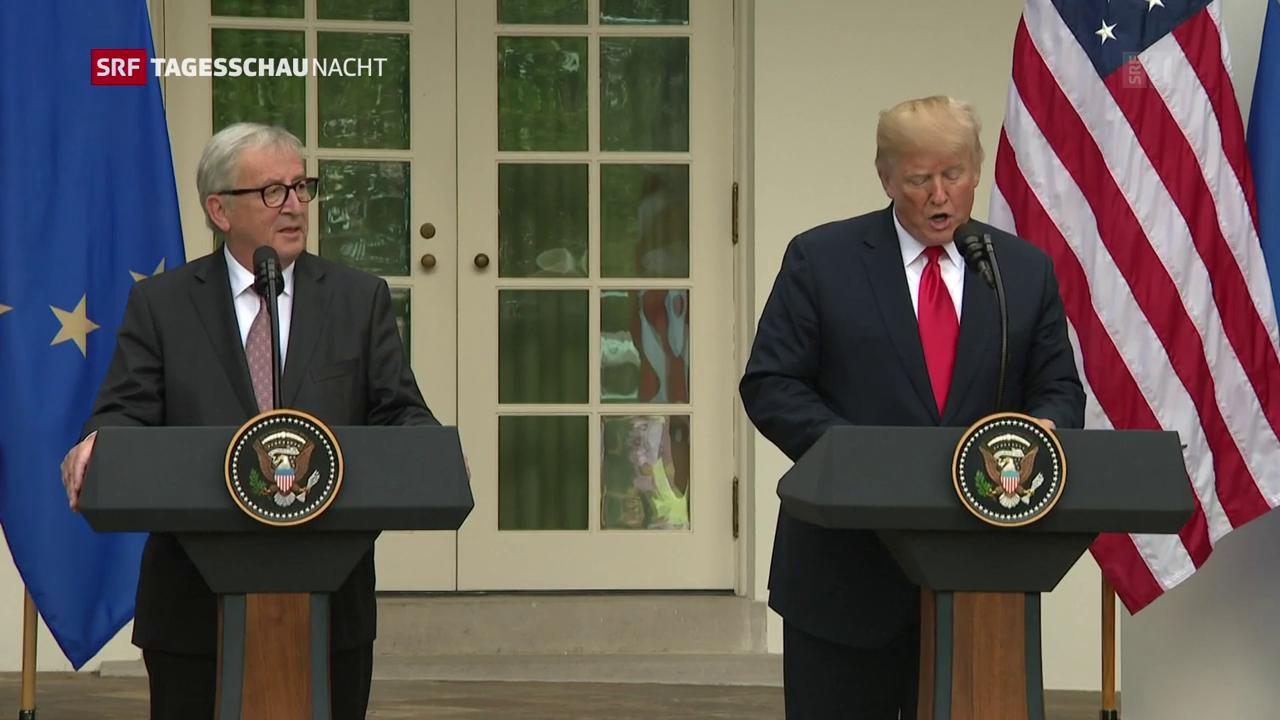Treffen mit Trump - Juncker will sich nicht verteidigen
