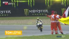 Link öffnet eine Lightbox. Video Die MotoGP ruft: Lüthi unterschreibt Vertrag abspielen