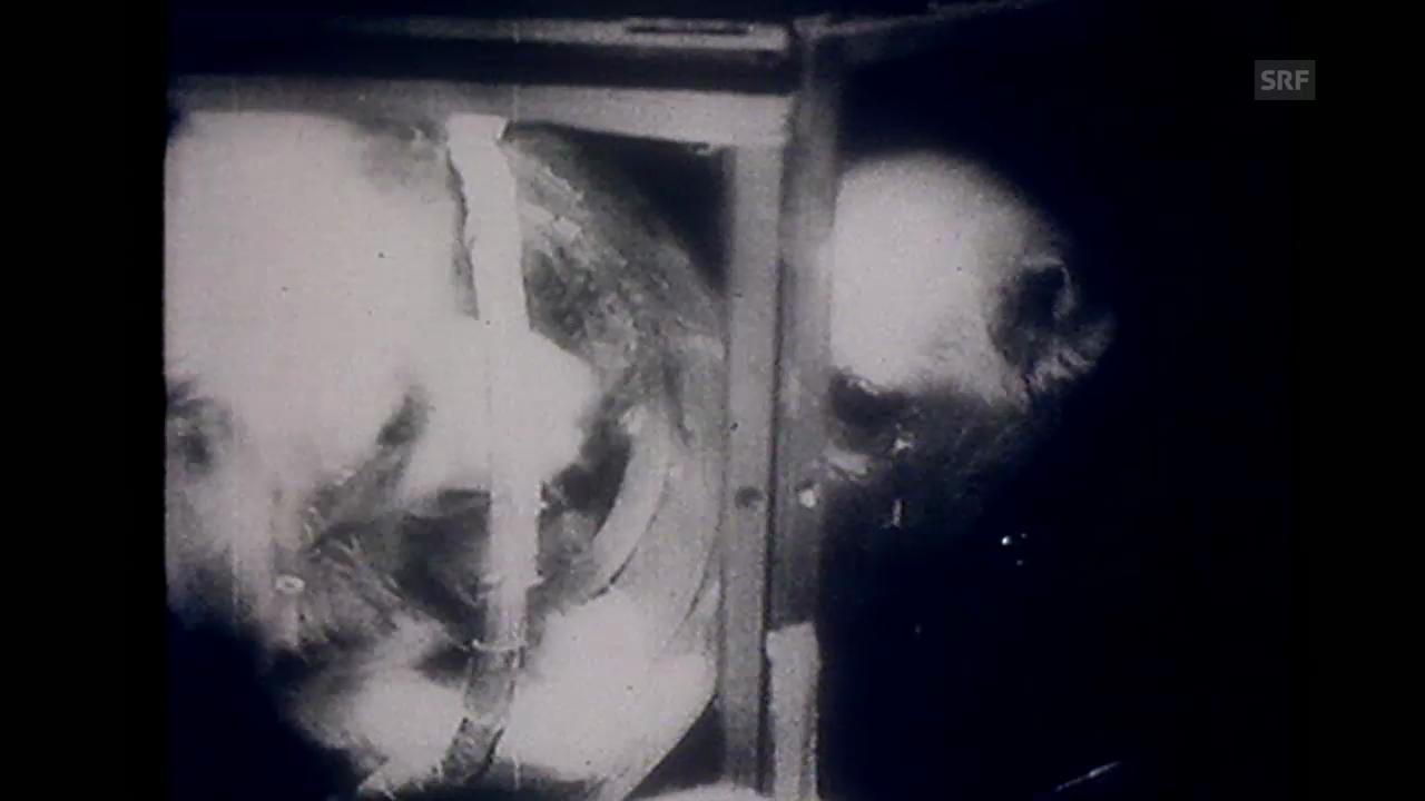 «Sputnik II», Tagesschau, 30.12.1957
