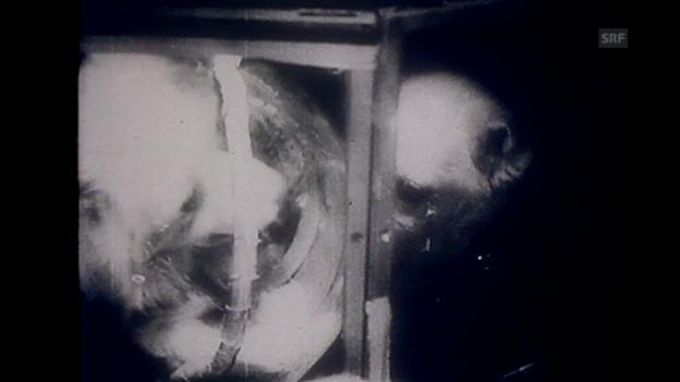 Video ««Sputnik II», Tagesschau, 30.12.1957» abspielen