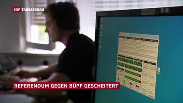 Video «Referendum gegen BÜPF gescheitert» abspielen