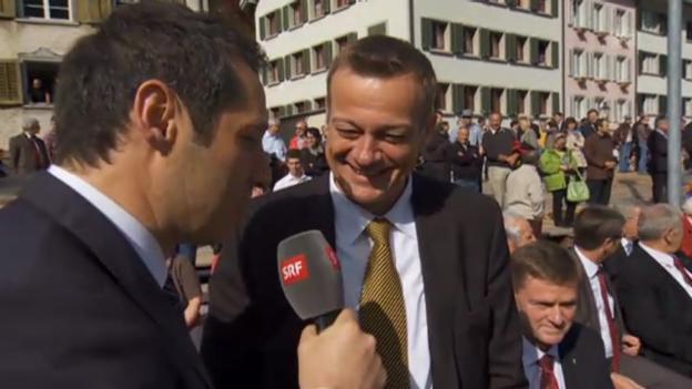 Video «Martin Landolt, Präsident der BDP» abspielen