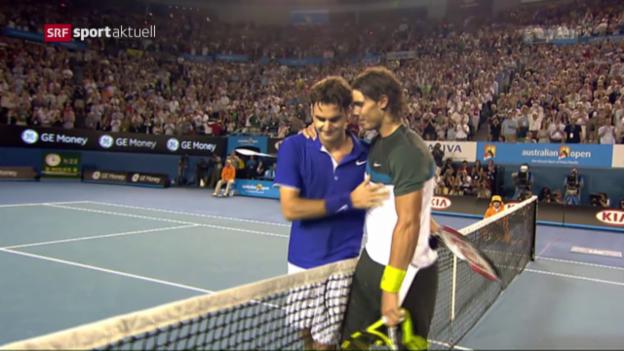 Video «Federer - Nadal: Der Final-Klassiker ist Tatsache» abspielen