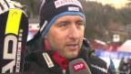 Video «Ski Alpin: Silvan Zurbriggen im Interview» abspielen