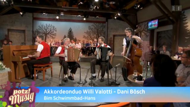 Akkordeonduo Willi Valotti - Dani Bösch