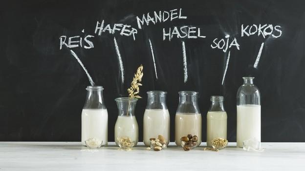 Sojamilch und Co. – was ist drin?