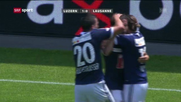 Video «Zusammenfassung Luzern - Lausanne («sportpanorama»)» abspielen