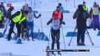 Video «Langlauf: 2. Medaille für Fähndrich» abspielen