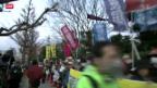 Video «Japaner gegen Atomkraft» abspielen