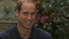 Video «Prinz William über Baby George» abspielen