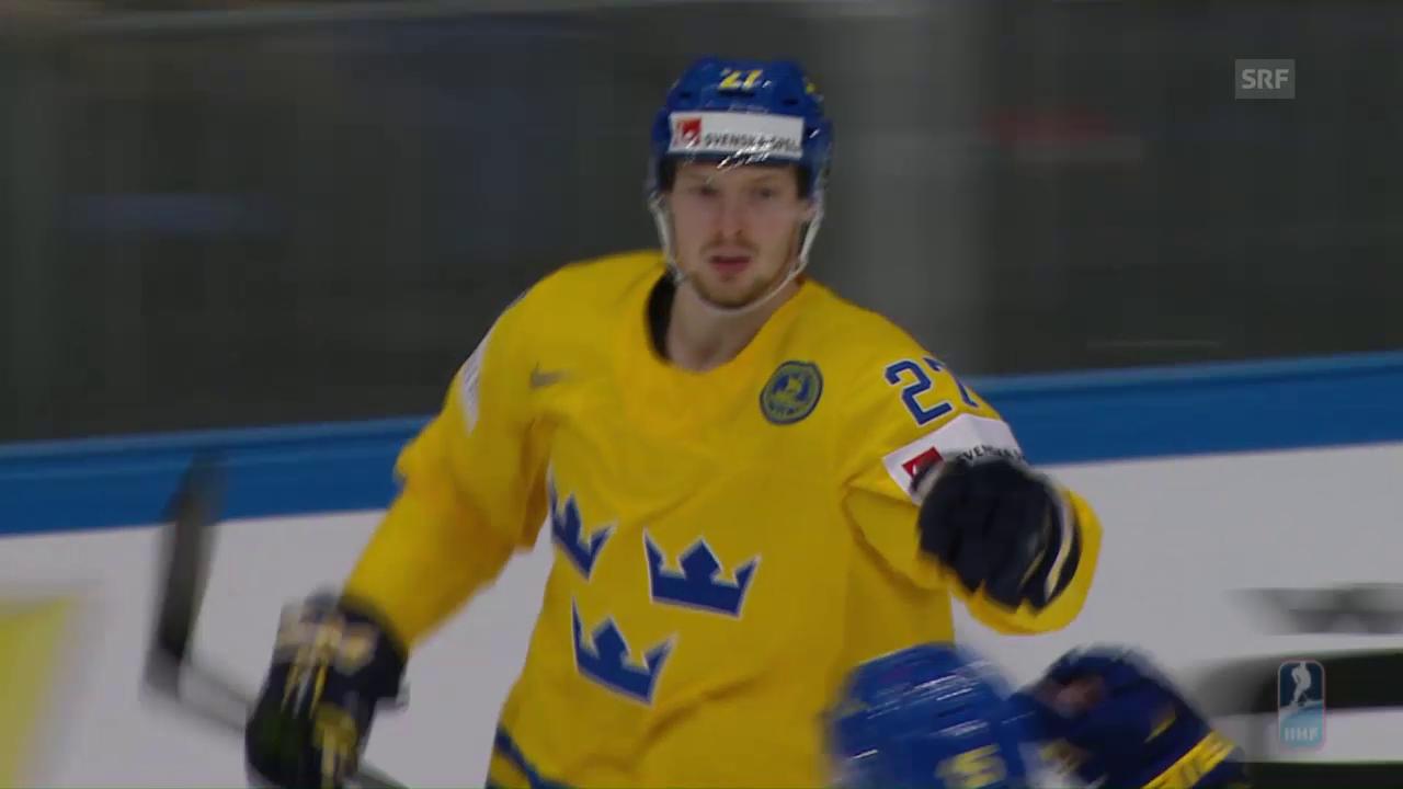Schweden zittert sich zum Sieg gegen Norwegen