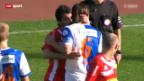 Video «Fussball: Grasshoppers - Sion» abspielen