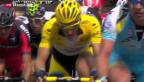 Video «Zweite Etappe der Tour de France – auf englischem Boden» abspielen