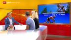 Video «Mountainbike: Studiogäste Nino Schurter und Jolanda Neff (II)» abspielen