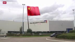 Video «Peugeot-Citroen streckt Fühler nach China aus» abspielen