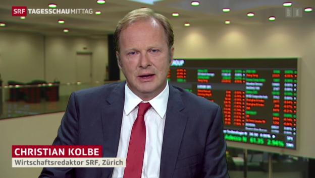 Video «SRF-Wirtschaftsredaktor Christian Kolbe zu den Shutdown-Folgen» abspielen