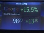 Video «Erster Handelstag für Google» abspielen