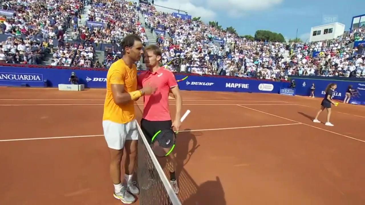 Nadal lässt Goffin keine Chance