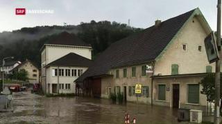 Video «Unwetter über Jura und Baselbiet» abspielen