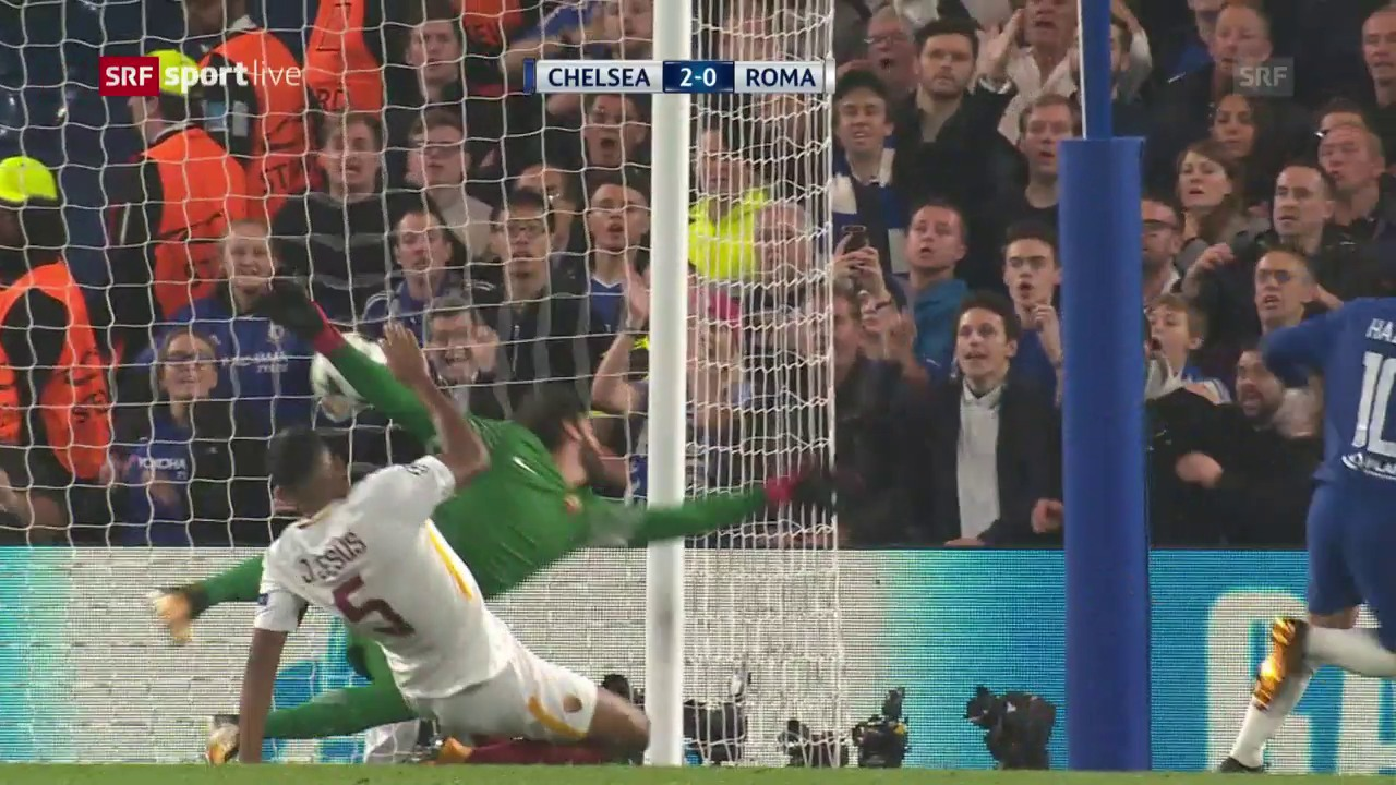 Grosses Spektakel bei Chelsea - AS Roma