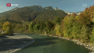 Video «Dem Rhein schwindet das Wasser» abspielen