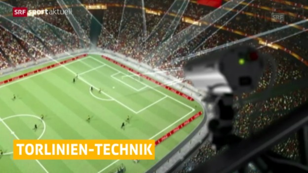 Video «Fussball: Bundesliga, Torlinien-Technologie» abspielen