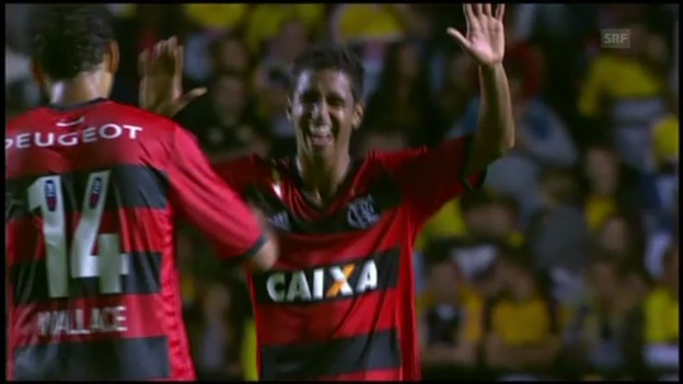 Video «Fussball: Brasilianische Serie A, Criciuma-Flamengo» abspielen