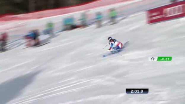 Video «Ski-WM: Der Kombi-Slalom von Dominique Gisin» abspielen
