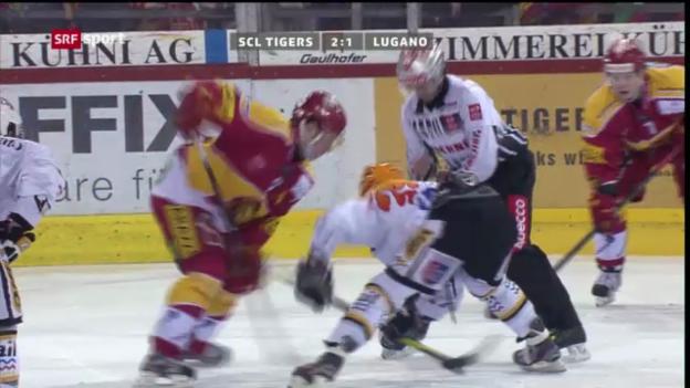 Video «Eishockey: SCL Tigers - Lugano («sportpanorama»)» abspielen