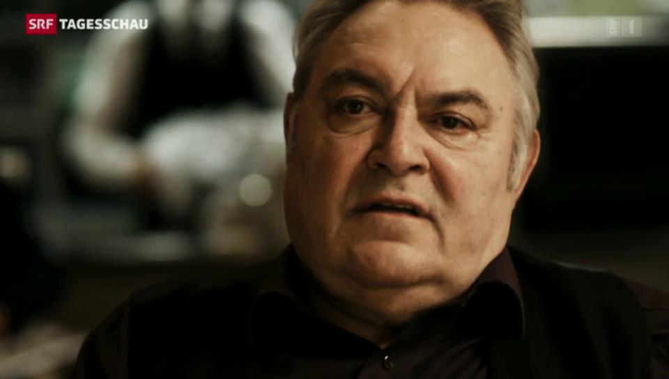 Vollblut-Schauspieler Mathias Gnädinger