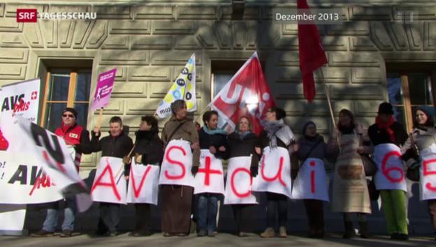 Video «Ständerat sagt Nein zu «AHVplus»» abspielen