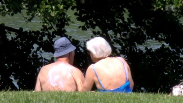 Video «Sonnecreme schützt auch vor Falten» abspielen