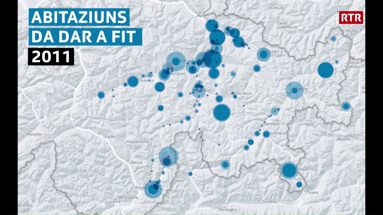 Abitaziuns vidas en il Grischun 2010-2016