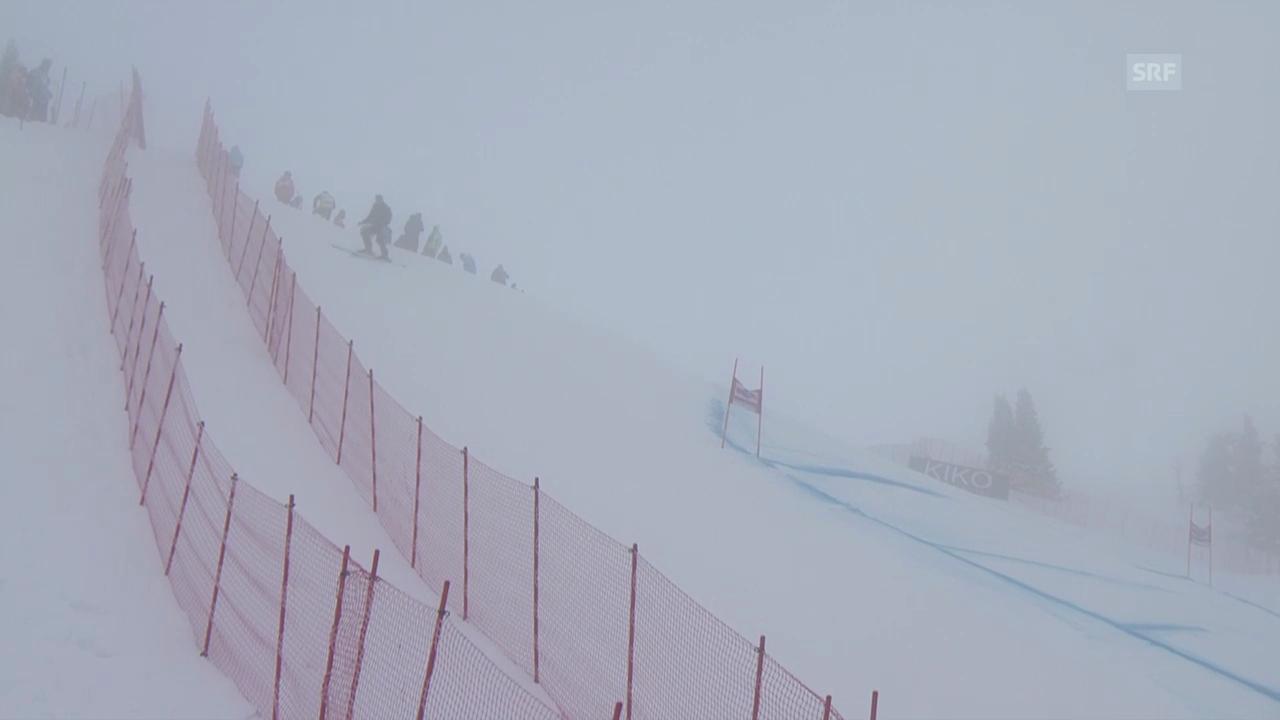 Ski: Nebel verzögert Start im Wallis
