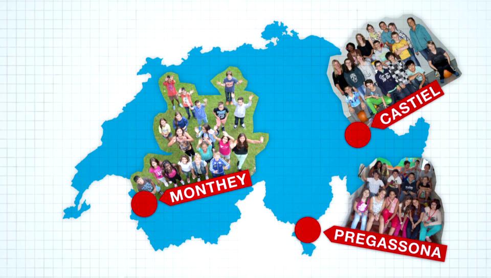 3 Sprachen, 3 Schulklassen, 1 Ziel