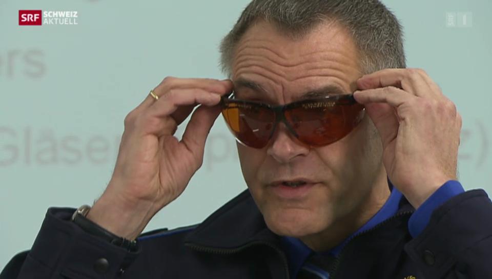 Neue Laserschutzbrillen