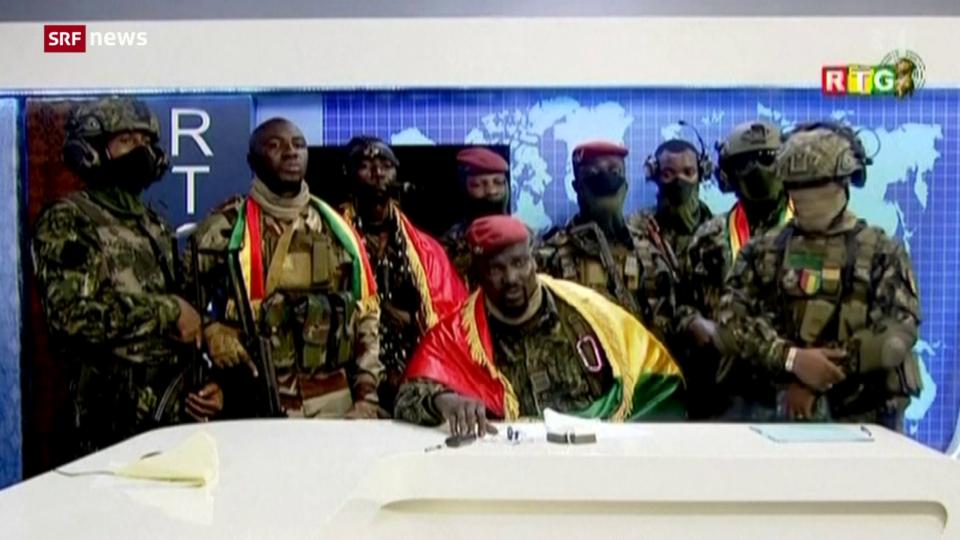 Putsch in Guinea