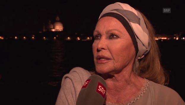 Video «Ursula Andress: lieber Natur als Blitzgewitter» abspielen