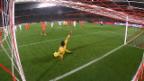 Video Depay vernascht Lloris mit einem «Panenka» abspielen.
