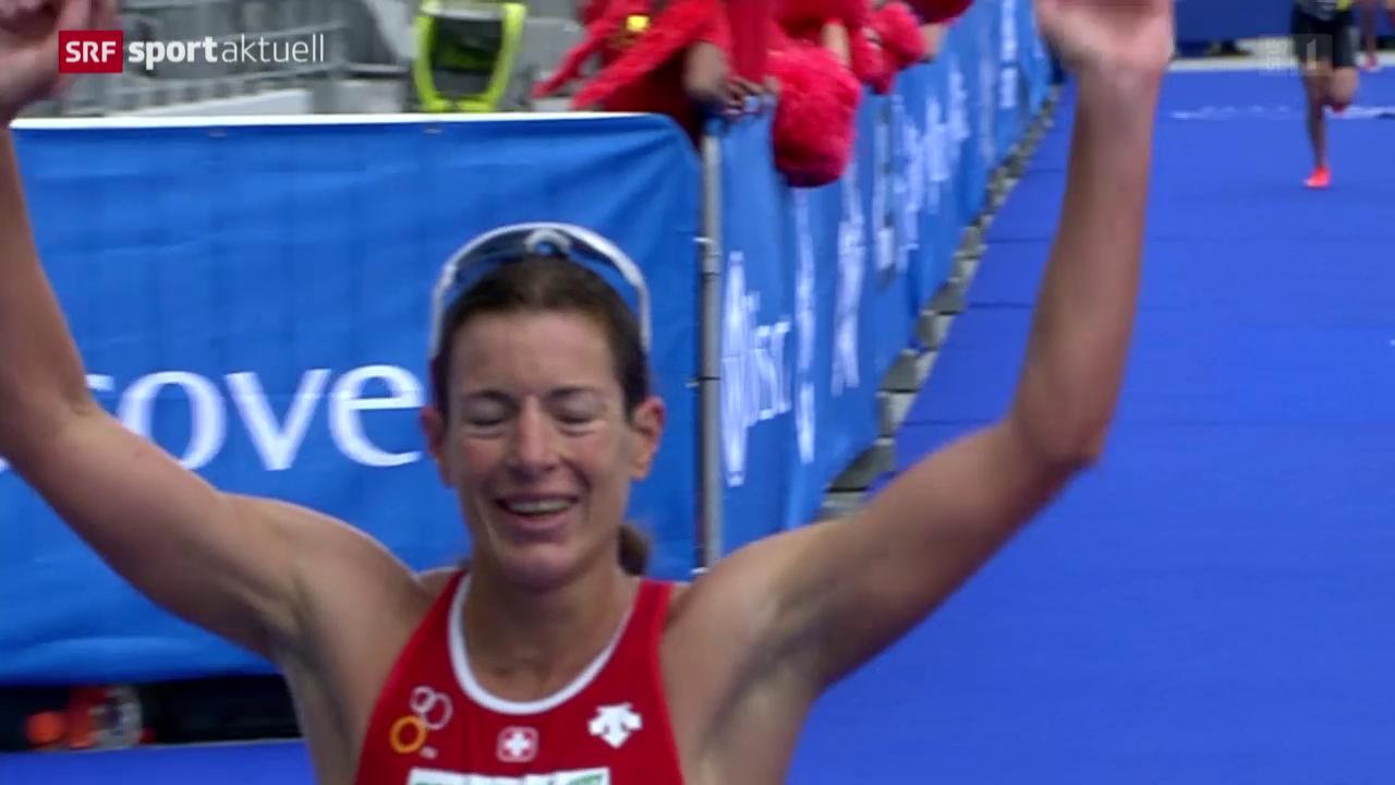 Triathlon: WM-Serie in Kapstadt mit Nicola Spirig