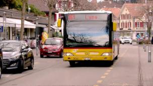 Video «Postauto, Edith Graf-Litscher, Wildfütterung, Kosovaren-Armee» abspielen
