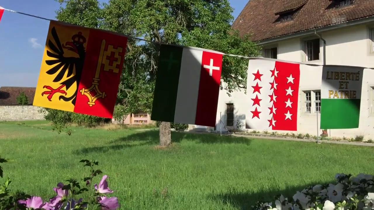 Was bedeutet unseren Pilgern die Schweiz?